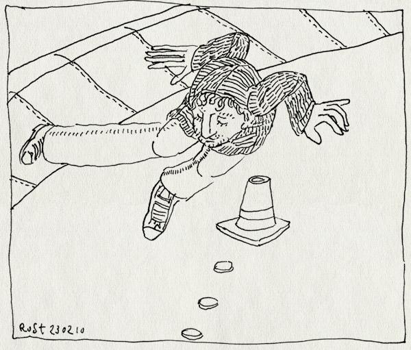 tekening 1013, baanwissel, kemkers, kramer, os2010, pilon, schaatsen, sven, svengate, wissel