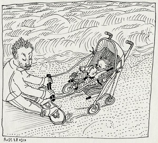 tekening 1046, alwine, bakkum, beach, board, buggy, castricum, kite surfing, kitesurfen, sand, stand, surfen, zand