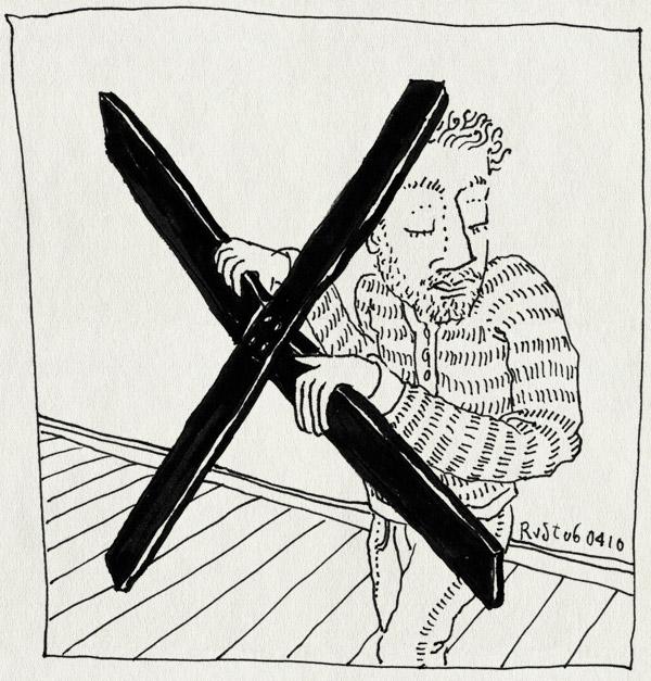 tekening 1055, burorust, cross, dont, huisstijlhandboek, huisstijlpolitie, jcf, kruis, not