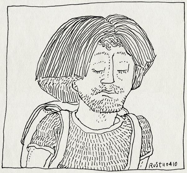 tekening 1060, bijnaam, dora, explorer, midas, nickname, pruik