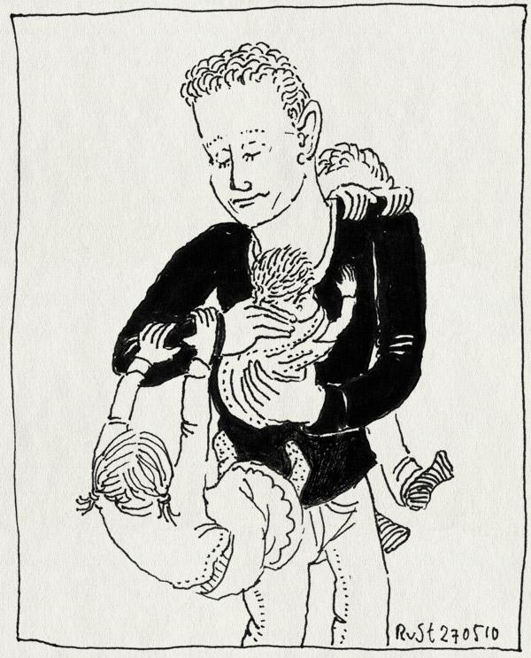 tekening 1106, born, bram, fenna, geboren, michel, new, newborn, pasgeboren, roos