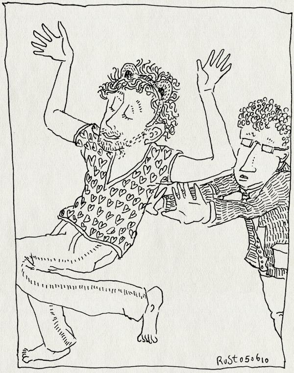 tekening 1115, arnon, beeld, duwen. push, grunberg, haarlem, lezing bibliotheek, schattigheidsfactir, stripdagen, vrolijk tekst