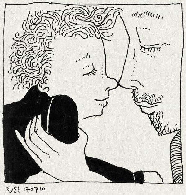 tekening 1157, alwine, neusieneusie