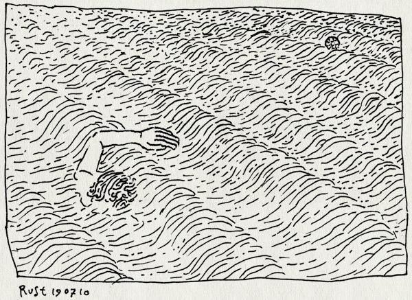 tekening 1159, bakkum aan zee, bakkum beach, bal, ball, castricum aan zee, noordzee, sea, swim, zee, zwemmen