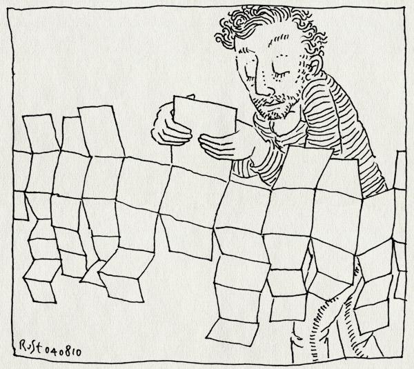 tekening 1175, ipad, magazine, revolutie