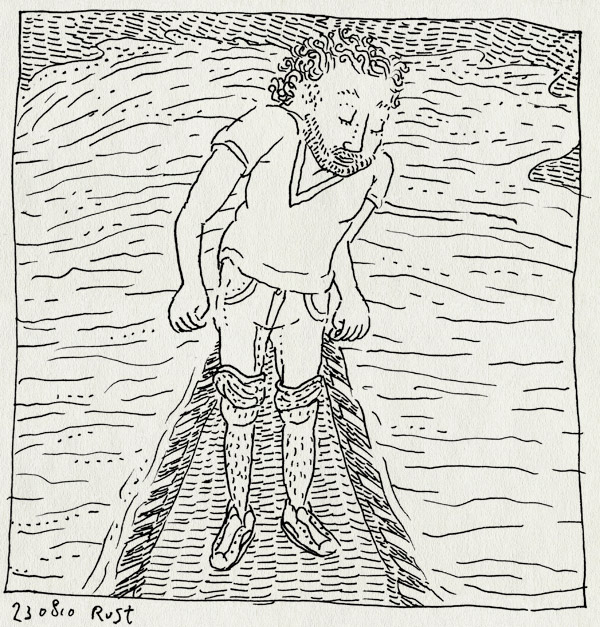 tekening 1194, drempel, overstroomd, plas, rain, regen, straat, water, windhoos, wolkbreuk