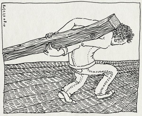 tekening 1197, balk, tillen