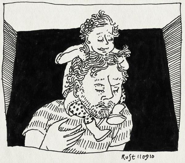 tekening 1213, alwine, auw, haar, hair, haren, neck, nek, pull, rijden, trekken