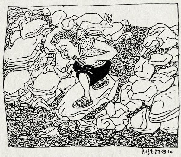 tekening 1229, 2010, alpujarra, midas, spain, spanje, stenen, surf, surfen, vakantie