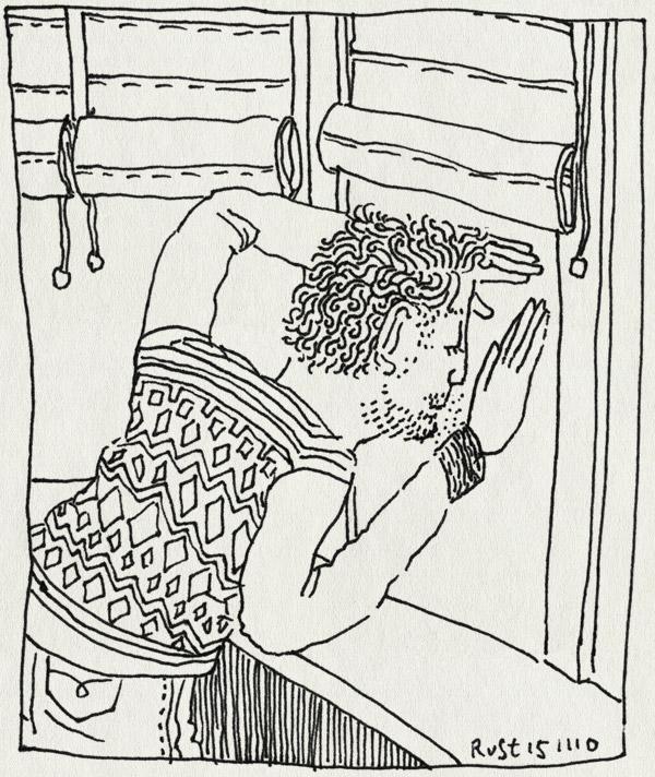 tekening 1278, 4, condens, eerste schooldag, erker, kijken, midas, raam, school