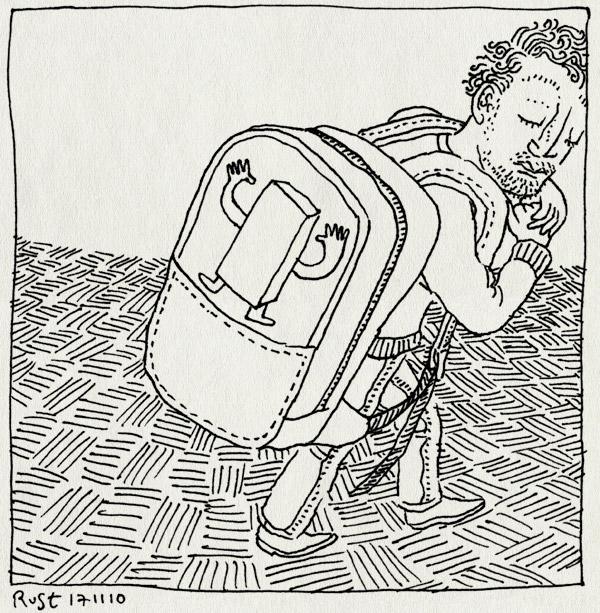 tekening 1280, midas, school, schooltas, straat, tas