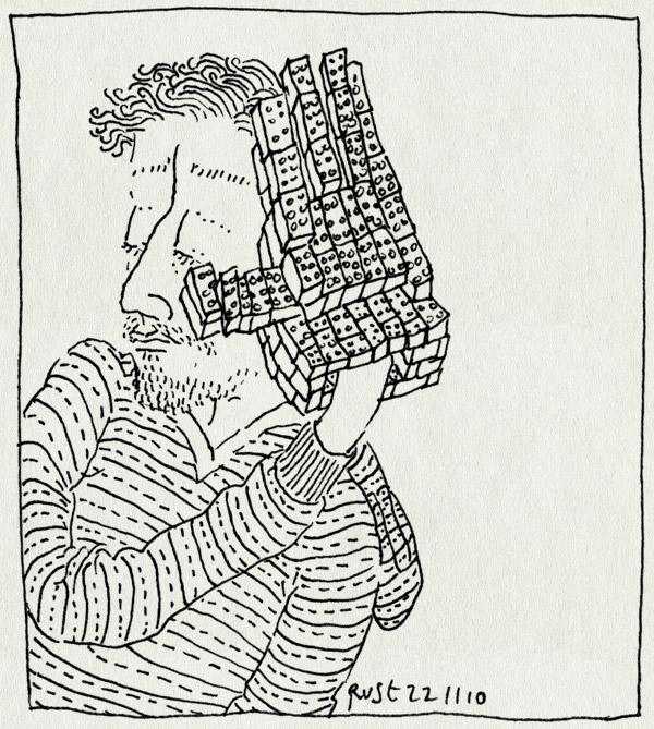 tekening 1285, alles, hand, lego, maken