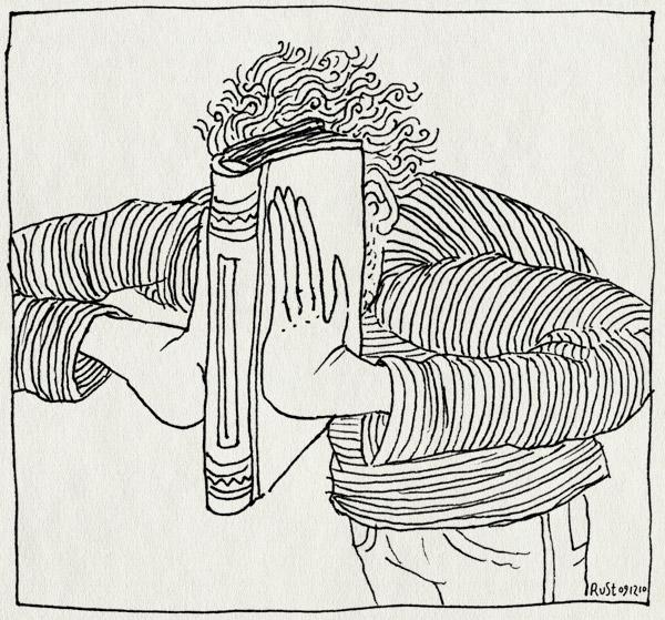 tekening 1301, boek, dicht, elkedagrust, voortgang