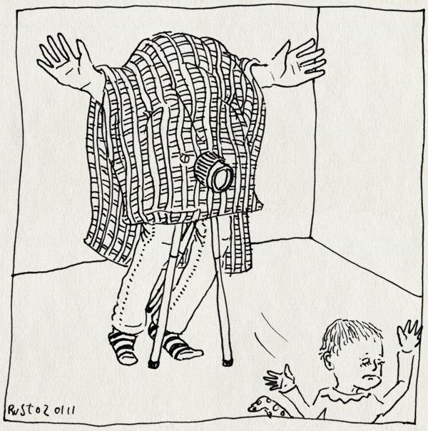 tekening 1325, foto, geboortekaartje, willemijn