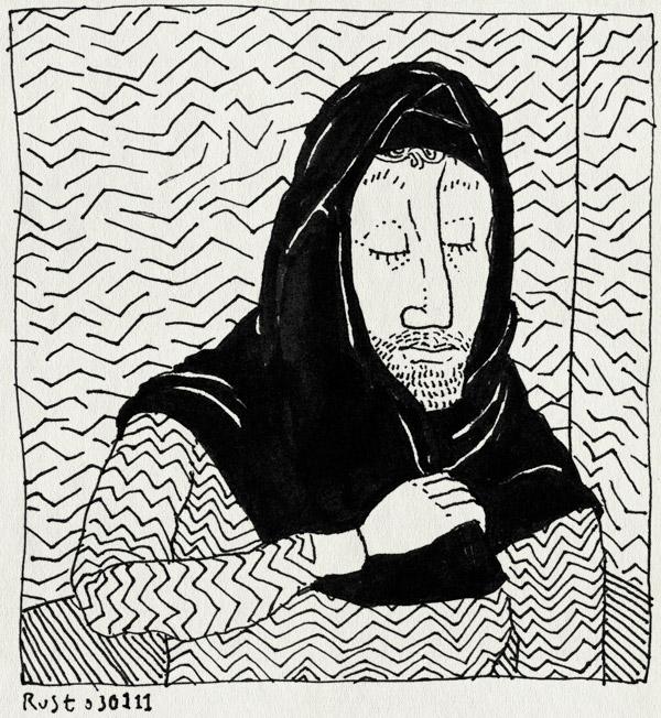 tekening 1326, gaaf, hoofddoekje, marjane satrapi, persepolis, tribute, veil
