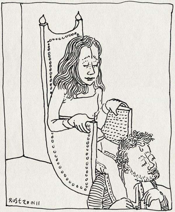 tekening 1343, 10e.nl, dutchbloggies, genomineerd, martine, recensiekoning, trots