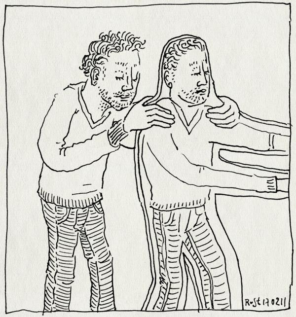 tekening 1371, cover, gijs, muziekavond