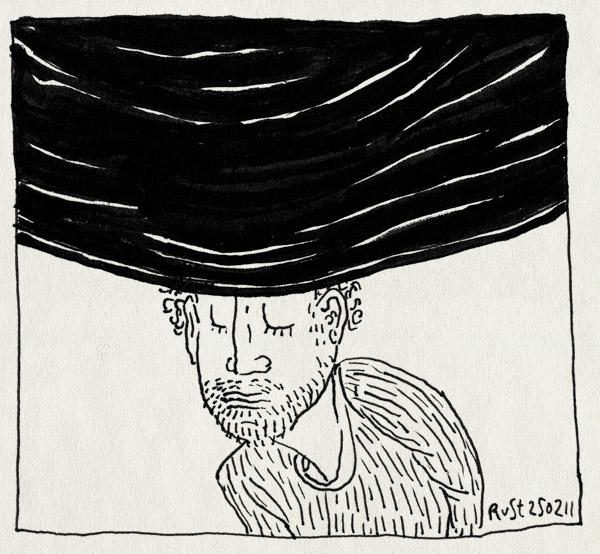 tekening 1379, affiche, afgekeurd, banier, bellevue, burorust, hoofddoekje, idee, oumi