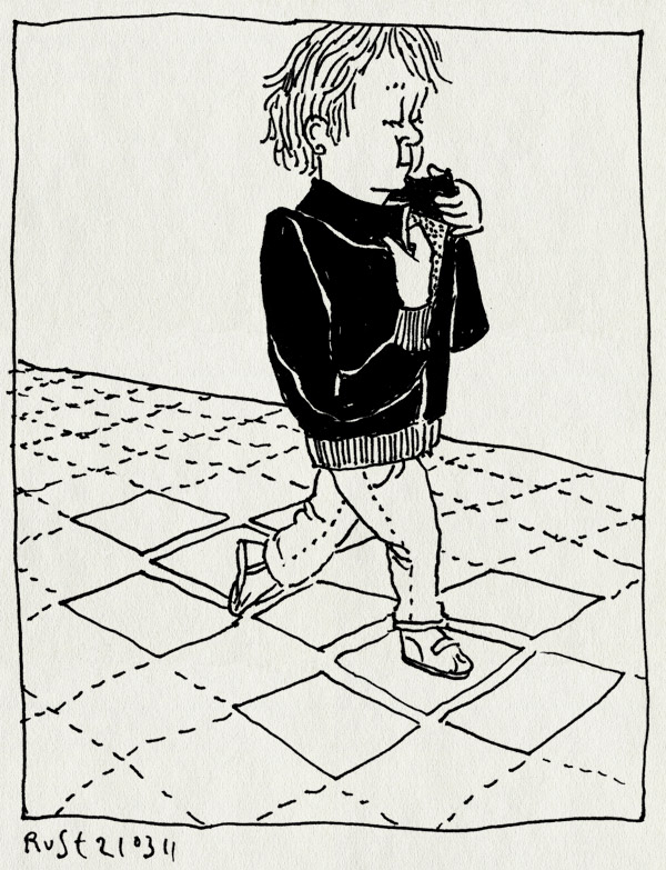 tekening 1403, 4, jas, jekker, leren, midas, populair, schoolplein, stoer, zwart