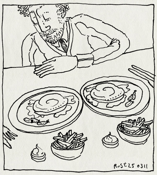 tekening 1407, 15, eten, fifteen, fwf, hetzelfde, jamie oliver, members day, twee keer
