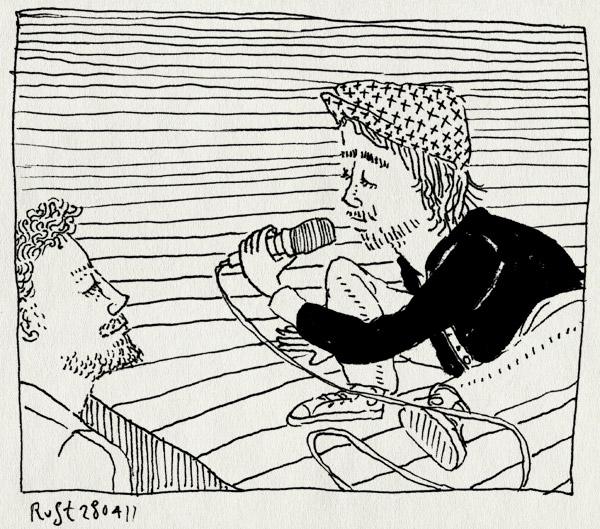 tekening 1440, alleen, concertgebouw, concertgebouworkest, gaaf, patrick watson, repetitie