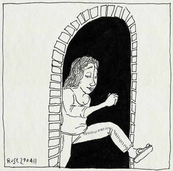 tekening 1441, brug, martine