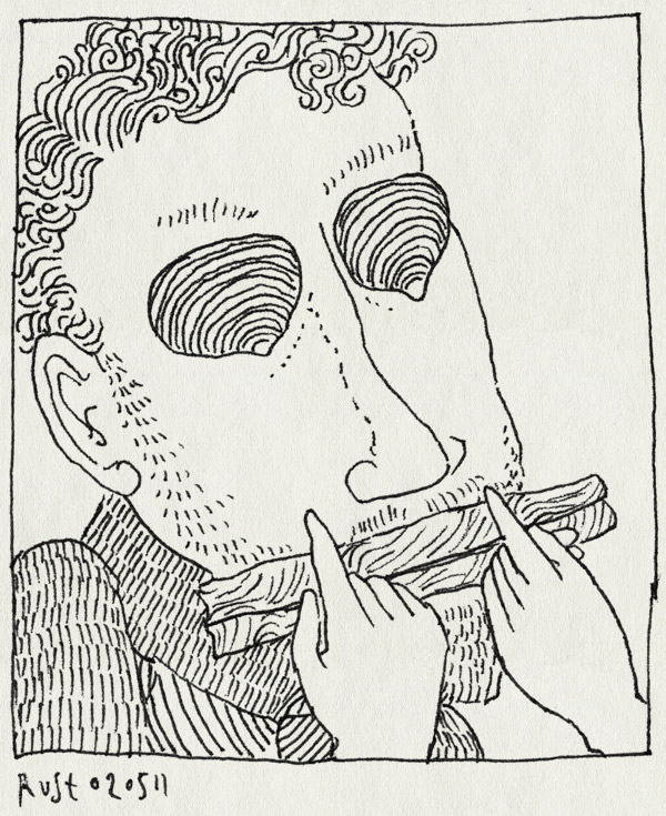 tekening 1444, castricum, ribbelschalp, scheermestje, schelpen, strand