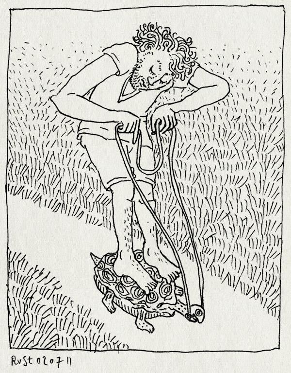 tekening 1505, art zuid, artzuid, bit, brons, jan fabre, kunstroute, rijden, schildpad