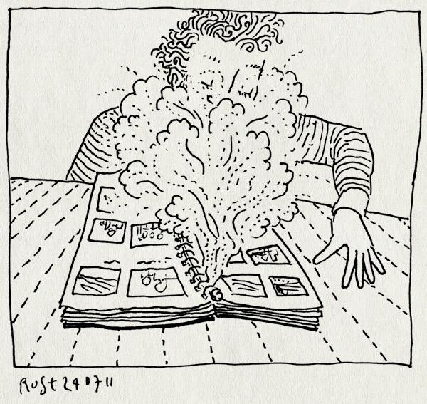 tekening 1527, castricum, enveaux, foto's, fotoalbum, frankrijk, kijken, mama, samen, stof, tof, vakantie