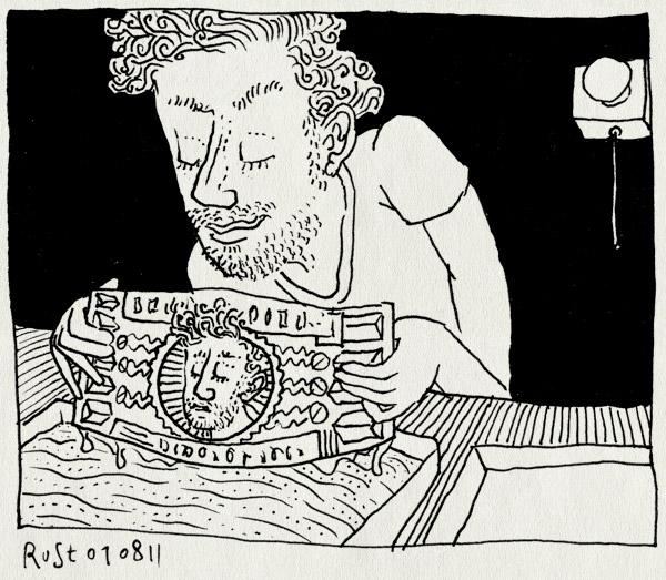 tekening 1535, briefje, geld, maken, ontwikkelen, recensiekoning, vervalsen. valsmunterij