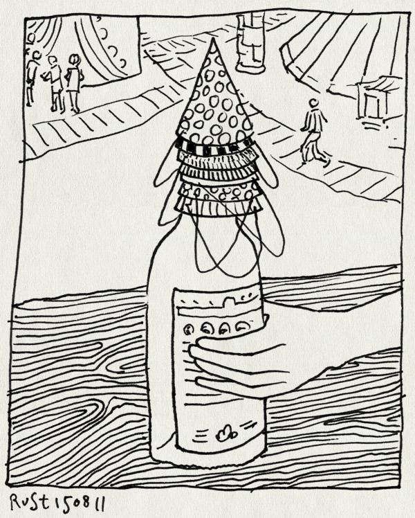 tekening 1549, amsterdam, martine, parade, verjaardag