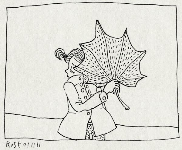 tekening 1622, alwine, blad, groot, klein, verzamelaar