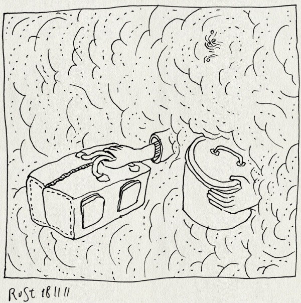 tekening 1639, erwtensoep, familieweekend, hof van saksen, mist, soep, weekendtas