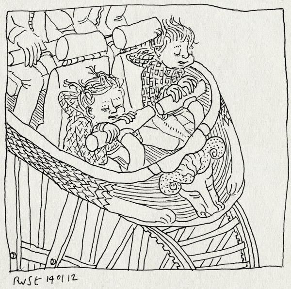 tekening 1696, achtbaan, alwine, efteling, joris en de draak, midas, stoer, whieeeeee