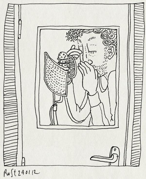 tekening 1705, fluisteren, fwf, greg shapiro, inspreken, microfoon, voiceover