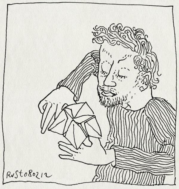 tekening 1720, affiche, kiezen, ronald smink, spelletje, vouwen, werk
