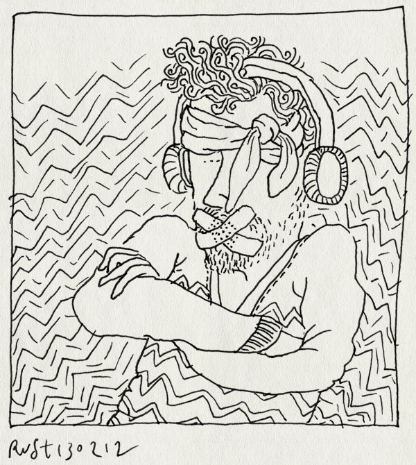 tekening 1725, afsluiten, horen, prikkelbaar, prikkels, zien, zwijgen