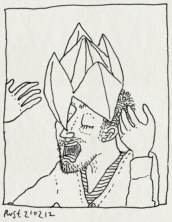 tekening 1733, affiche, kiezen, ronald smink, spelletje, vouwen, werk