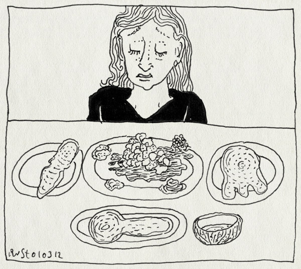 tekening 1742, amsterdam, egyptisch, eten, ibis, jurjen, martine, restaurant, vies