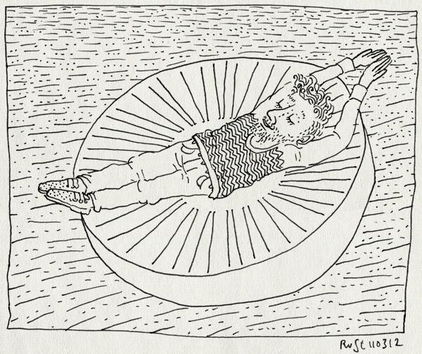 tekening 1752, amstelpark, liggen, steen, windroos, zon, zonnewijzer