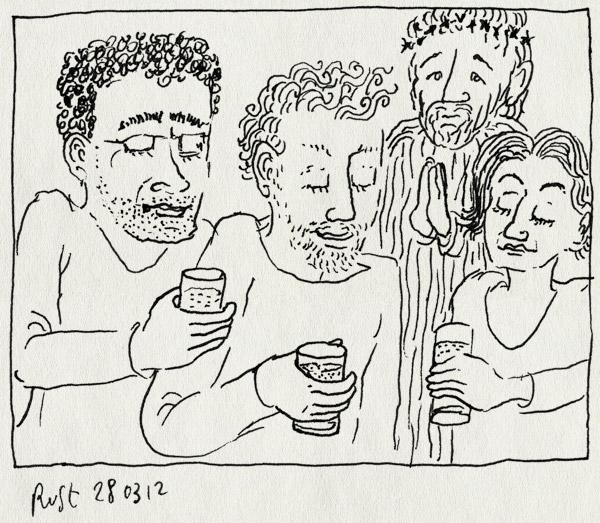 tekening 1769, bar, bier, feria, jesus christus, lourdes, miguel, samana santa, sevilla
