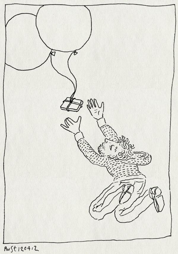 tekening 1784, ballon, groot, recensiekoning, ruimte, springen
