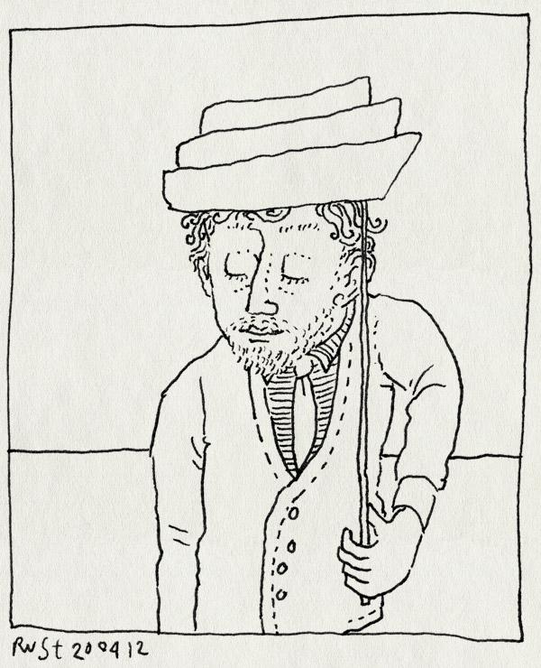 tekening 1792, 2rings, beatrix, foto, joed, props, recensiekoninginnenacht, stokje