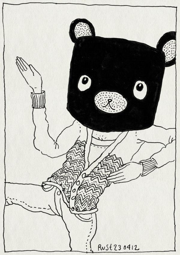 tekening 1795, app, beer, iphone, masker, ninja, spel, tripple town, verslaafd