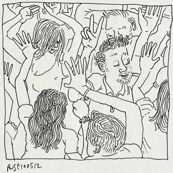 tekening 1812, dansen, de kring, feest, v, veest, volkskrant, whopwhop