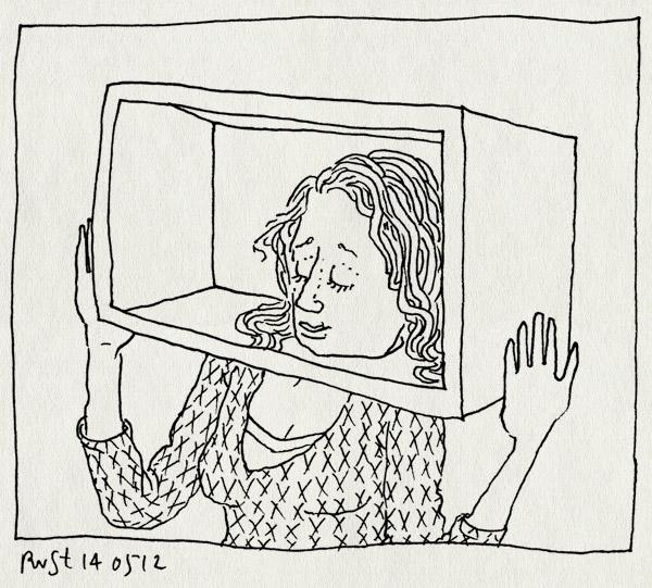 tekening 1816, boerzoektvrouw, boulevard, bzv, doos, expert, hoofd, martine, televisie