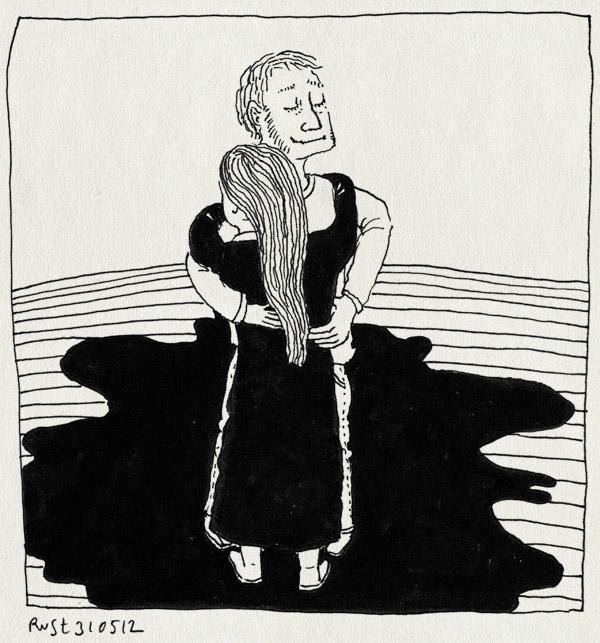 tekening 1833, hug, maaike, schaamte, spijt