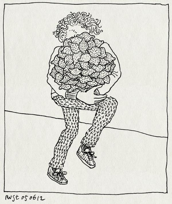 tekening 1838, avondvierdaagse, citroen, citroenen, elastiekje, gebruik, pepermunt, zakdoek