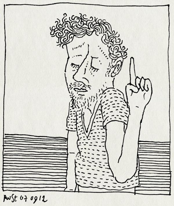 tekening 1932, een, hee, hoi, vinger