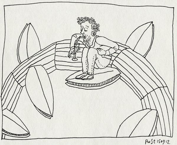 tekening 1940, amsterdam, bonenstaak, buren, holland casino, maasstraat, playground, ruzie, scroppino, sgroppino, smaak van de maasstraat